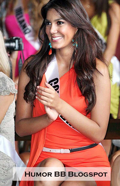 Miss Columbia Catalina Robayo Tak Bercelana Dalam Humor Singkat
