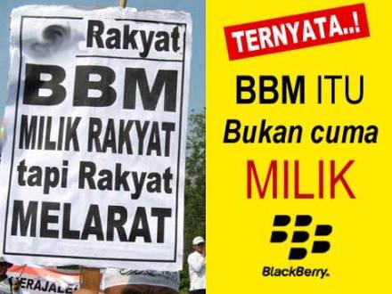 BBM itu Milik Rakyat dan Blackberry :: DP BBM Terbaru
