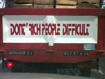 Jangan Kaya Orang Susah :: Gambar DP BB