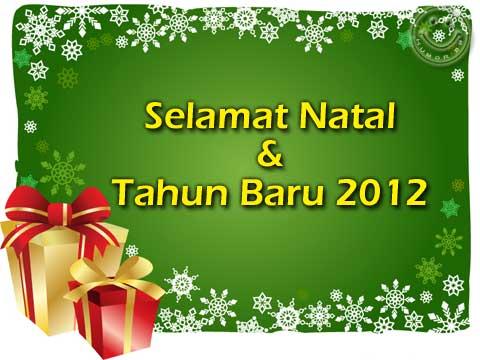 Gambar Ucapan Natal Dan Tahun Baru 2012 Gambar Bbm Humor