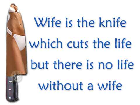 Wife is the knife :: Display Picture for BBM