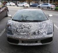 lebih seger: Mobil Mewah Dengan Grafitti Keren