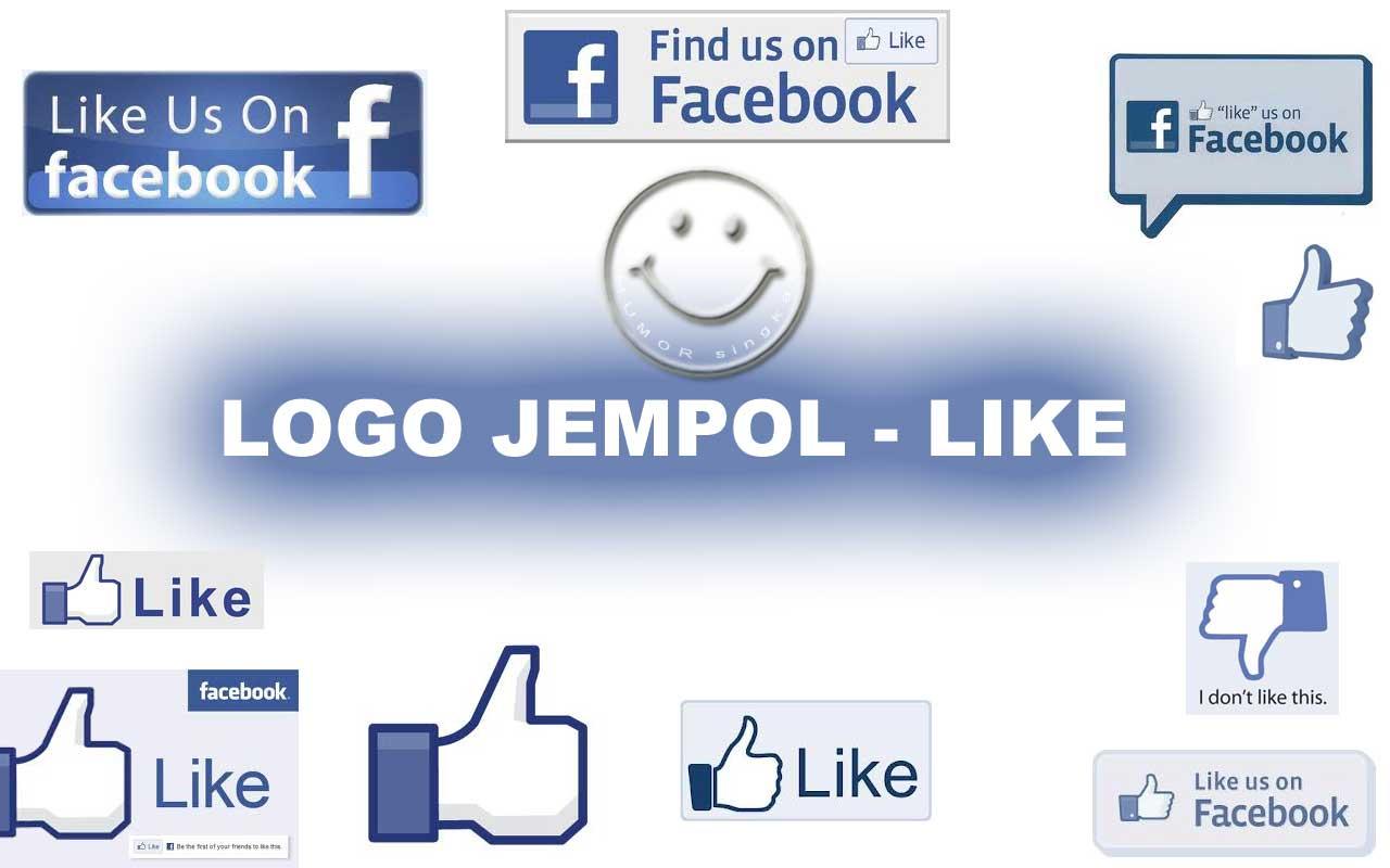 LOGO JEMPOL LIKE Humor Singkat Lucu Gambar Humor Kocak Kata Kata