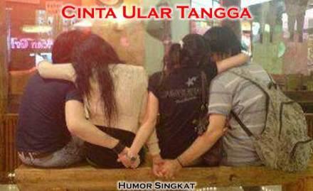 Cinta Ular Tangga Cnta Segi Empat Sama Sisi :: gambar Humor Lucu