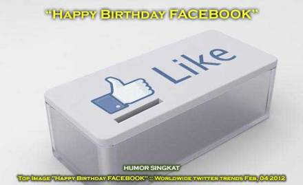 Happy Birthday FACEBOOK, Worldwide twitter trends Feb, 04 2012